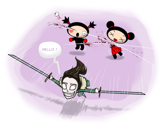 Hello... Pucca !