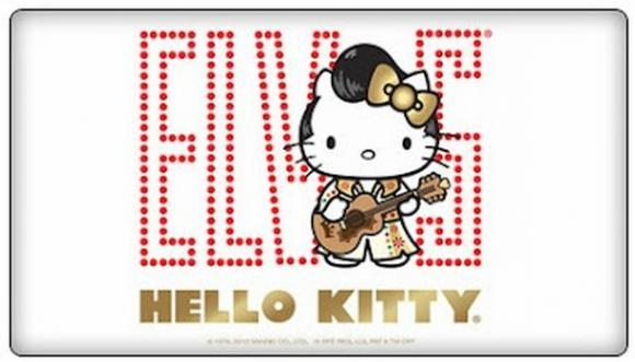 Elvis Presley X Hello Kitty 192 Voir