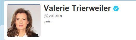 compte Twitter Trierweiler