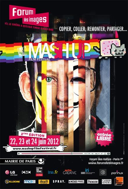 Affiche du Mash Up festival 2012
