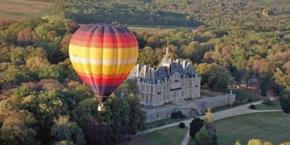 Montgolfière Chateau Baronville Caractère Original Best Western Quelles activités sportives pratiquer autour de Paris ?