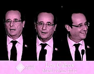 Sarkozy ou Hollande au G20: la différence.