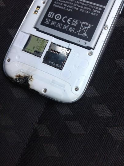 Galaxy S3 en feu : Samsung mène son enquête