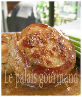 Tournedos de poulet à l'orange