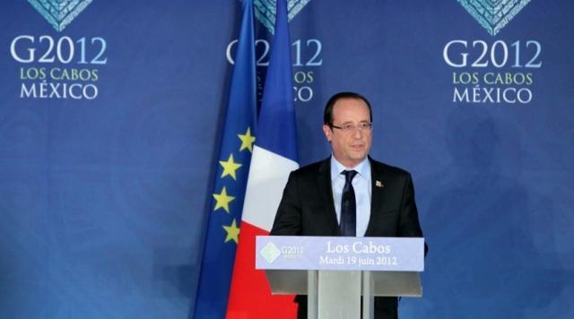 François Hollande au G20 de Los Cabos : «mettre la croissance au coeur de nos discussions»