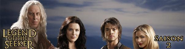 une lots 2 mini Legend of the seeker, saison 2