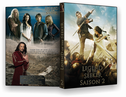 cove2r Legend of the seeker, saison 2
