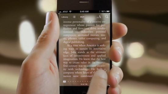 Image iphone 5 transparent 1 550x309   Transparent iPhone 5