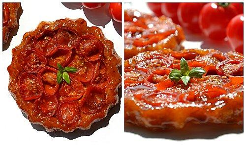 tartelettes tatin la tomate cerise et au caramel balsamique paperblog. Black Bedroom Furniture Sets. Home Design Ideas