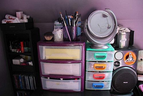 Mon rangement beaut paperblog - Tour de rangement maquillage ...