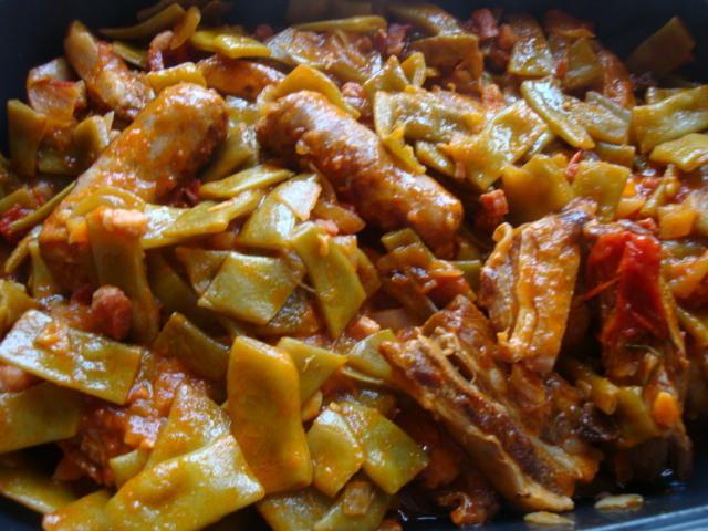Haricots plats coco aux vin blanc d couvrir - Cuisiner les haricots plats ...