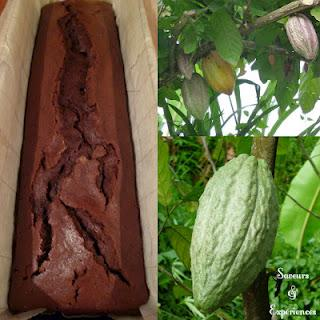 Cake à la Liqueur de Cacao, Demerara & Vanille de Maurice