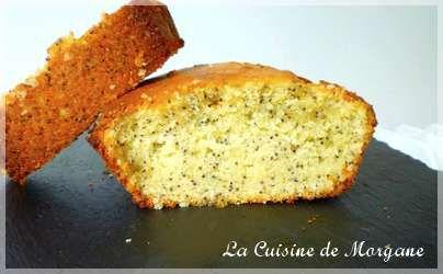 Cake citron - pavot (pour la ronde Interblog #29)