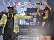 images Rihanna Jay-Z réunis scène festival Radio Hackney