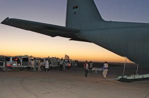 Libye : assistance d'urgence aux personnes déplacées et aux blessés