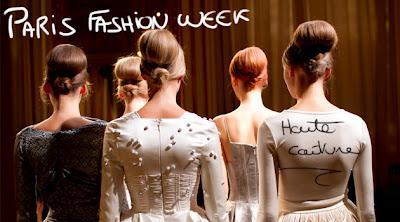 Fashion week Paris : défilés Haute Couture automne-hiver 2012/2013