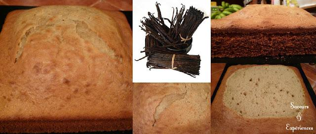 Gâteau Basique à la Vanille, Base pour Pâte à Sucre