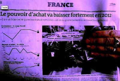 Pouvoir d'achat: 2012, l'année perdue ... par Sarkozy ?
