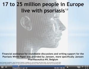 PSORIASIS: Un livre blanc pour améliorer les normes de soin  – EEWGHP