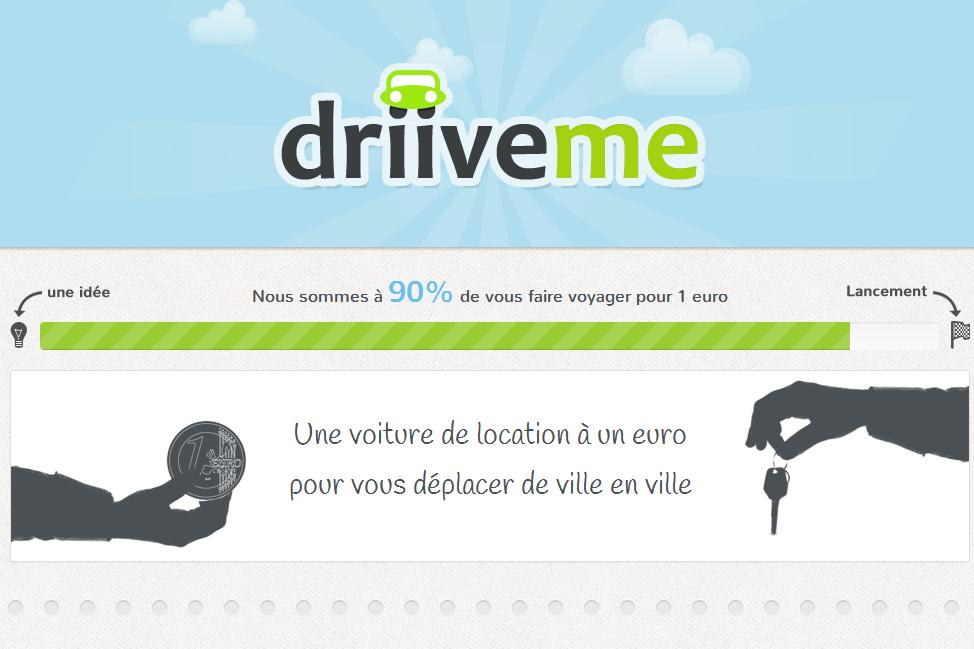 La location de voiture à 1 euro