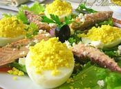Filet maquereau oeuf mimosa