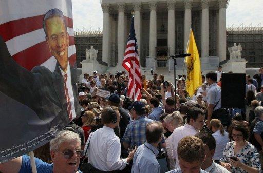 Loi d'Obama sur l'assurance maladie sauvée de justesse
