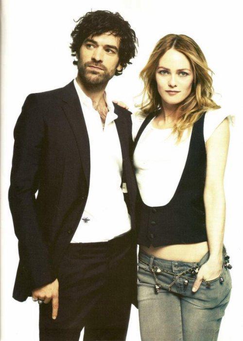 Vanessa Paradis et Romain Duris