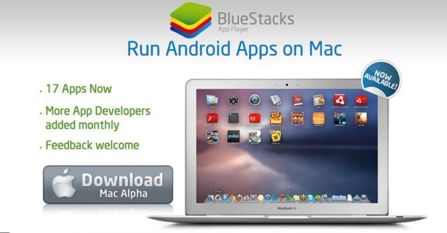 Des applications OS Androïd sur votre Mac, c'est possible...