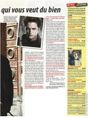Interview de Robert Pattinson avec TCS