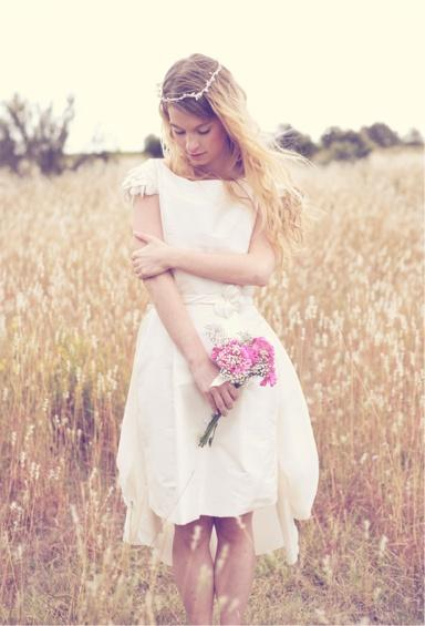Mariage une robe romantique sur mesure paperblog for Tenue shabby chic