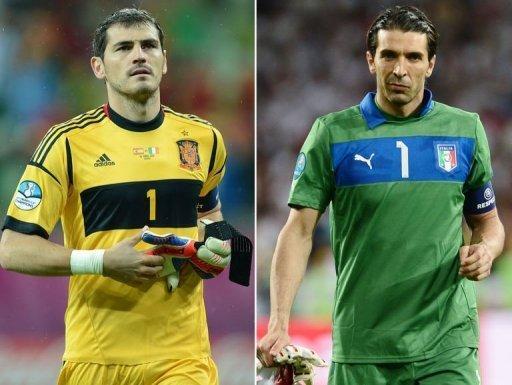 Finale de l'Euro 2012: Italie – Espagne