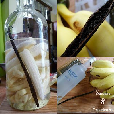Liqueur à la Banane & Vanille de l'Ile Maurice