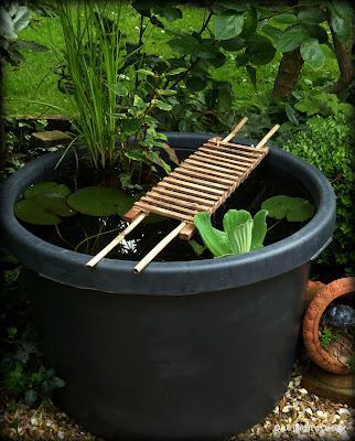 Recyclage lire - Deco jardin recyclage ...
