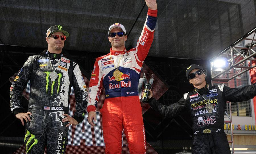 X Games RallyCross : Loeb seul au monde!