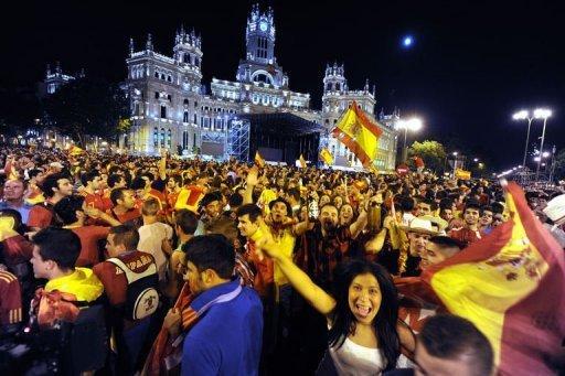 Euro: Triomphe et festivités pour l'équipe espagnole