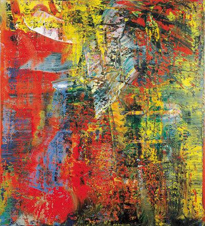Gerhard Richter à Pompidou : Abstraction ou Figuration ? Indécision ou Rébellion ?.. Fascination !