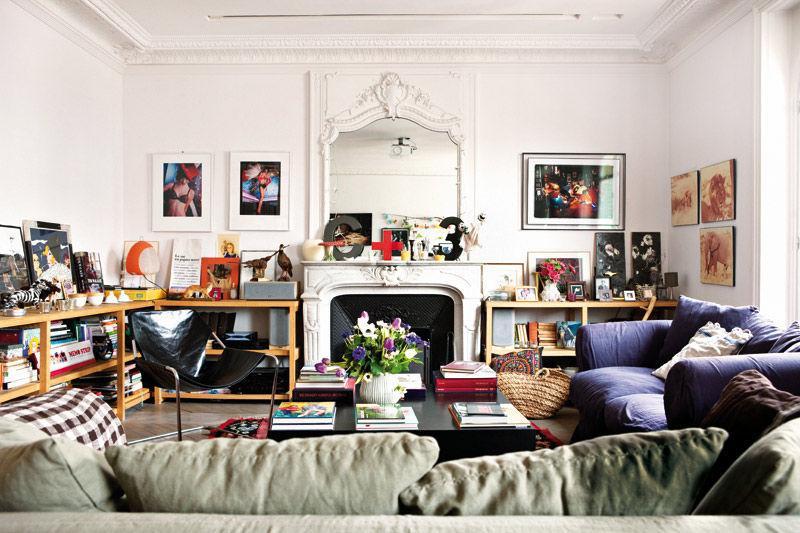 le duplex parisien des cr ateurs de bonton d couvrir. Black Bedroom Furniture Sets. Home Design Ideas