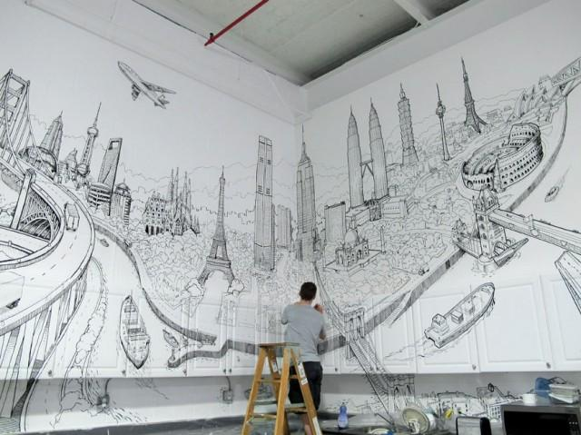 global-city-wall-painting3