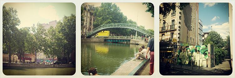 Paris, La canal saint Martin