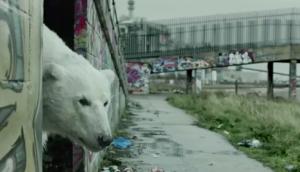 Radiohead, Jude Law et un ours blanc pour Greenpeace
