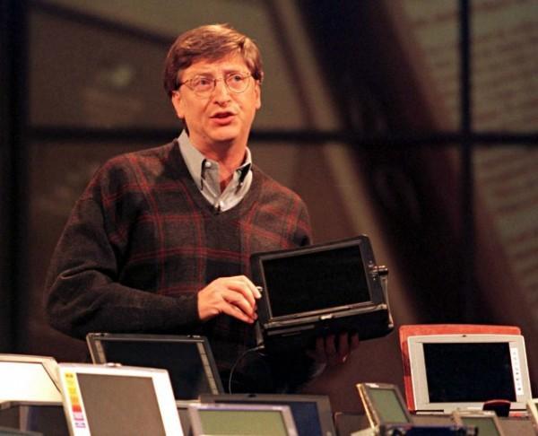 Bill Gates aurait rejeté l'idée d'un écran tactile en 1998