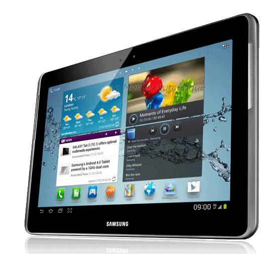 test de la tablette tactile android samsung galaxy tab 2 10 1 gt p5100 paperblog. Black Bedroom Furniture Sets. Home Design Ideas