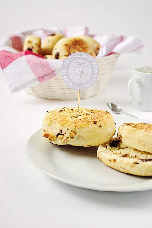 Muffins anglais au sirop d'erable, noix et pépite-copie-5