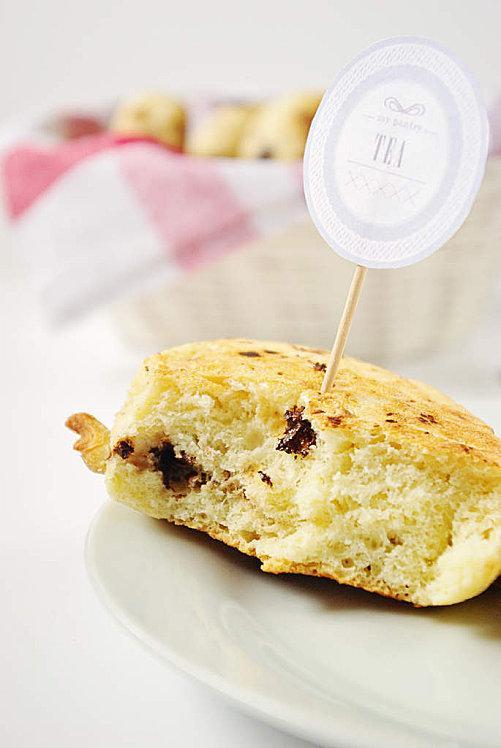 Muffins anglais au sirop d'erable, noix et pépite-copie-1