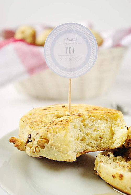 Muffins anglais au sirop d'erable, noix et pépite-copie-2
