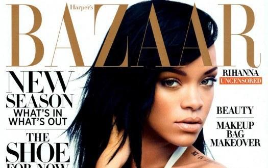 Rihanna fait la une du magazine Bazaar
