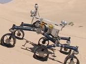 rover Curiosity NASA prend marques dans désert Mojave