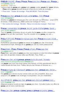 Le filtre Google Penguin (un article de plus, sur le filtre pingouin de Google)