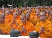 Gigantesque rassemblement moines Bangkok