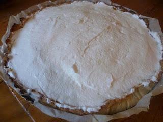 La tarte citron vert/mangue meringuée
